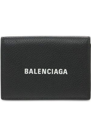 BALENCIAGA Herren Handtaschen - Brieftasche Aus Leder Mit Logo