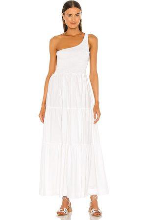 SWF Asymmetrical Dress in - White. Size L (also in XS, S, M).