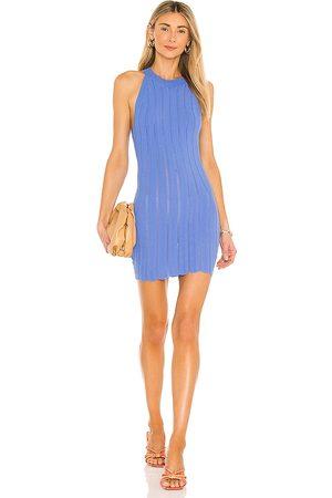 superdown Damen Kleider - Solis Mini Dress in - Blue. Size L (also in S, M, XS).