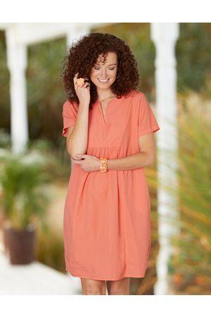 Deerberg Damen Kleider - Damen Kleid Janetta melone - Auch in Übergrößen