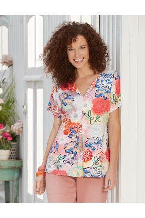 Deerberg Damen Shirts - Damen Jersey-Shirt Tatjana - Auch in Übergrößen