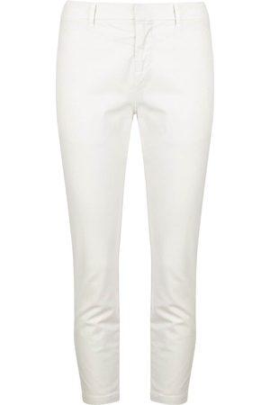 NILI LOTAN Cropped slim-fit trousers