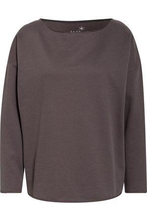 Juvia Damen Sweatshirts - Oversized-Sweatshirt grau