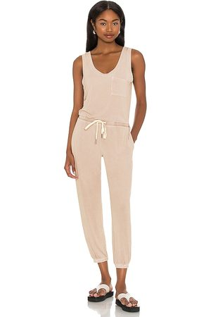 N:philanthropy Damen Jumpsuits - World Jumpsuit in - Nude. Size L (also in XS, S, M).
