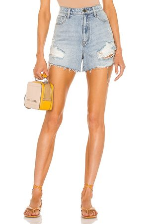 Show Me Your Mumu Phoenix Shorts in - Blue. Size 24 (also in 26, 25, 27, 28, 29, 30).