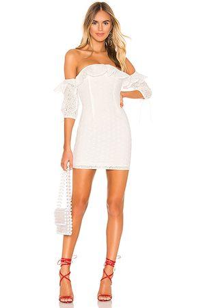 superdown Damen Kleider - Martina Ruffle Dress in - . Size L (also in XXS, XS, S, M).
