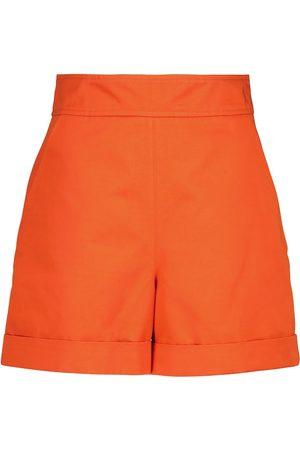 Marni Damen Shorts - Shorts aus Baumwolle und Leinen