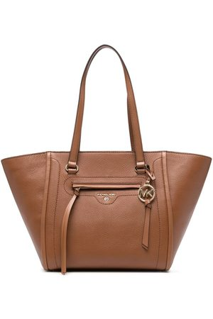 Michael Kors Large logo-plaque tote bag
