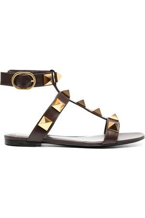 VALENTINO GARAVANI Damen Sandalen - Rockstud leather sandals