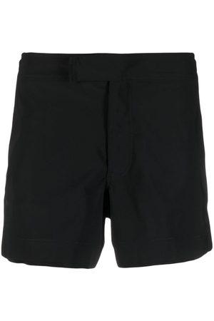 Neil Barrett Herren Badehosen - Waist-tab swim shorts