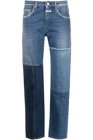 Closed Patchwork straight-leg jeans