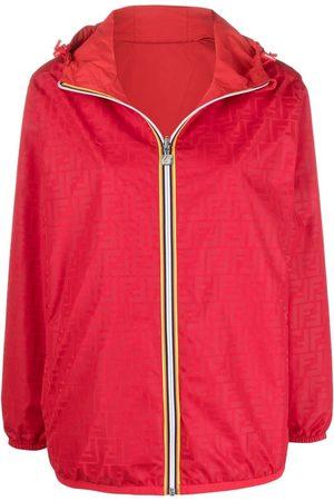 Fendi Damen Outdoorjacken - X K-Way® reversible windbreaker jacket