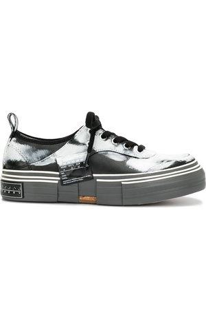 YOHJI YAMAMOTO Damen Sneakers - Paint-print platform sole sneakers