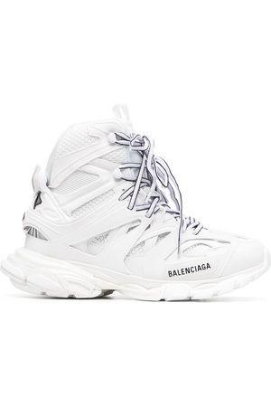 Balenciaga Damen Schnürschuhe - Logo-print lace-up sneakers