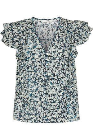VERONICA BEARD Damen Tops & Shirts - Top Joi aus Baumwolle