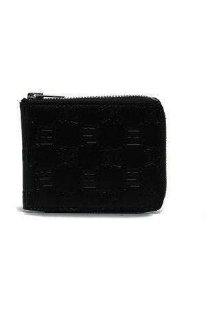 MISBHV Embossed-monogram leather wallet