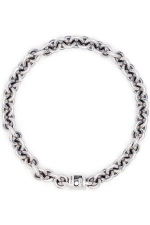 Le Gramme 21g vintage entrelacs bracelet