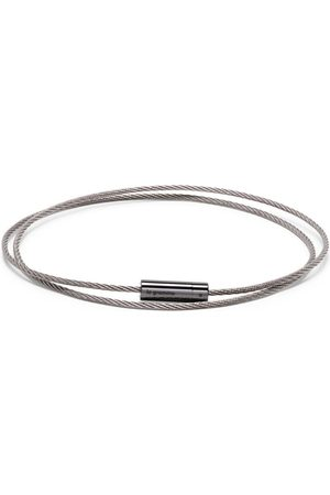 Le Gramme 11g polished triple cable bracelet