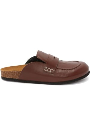 J.W.Anderson Slip-on calf leather loafers