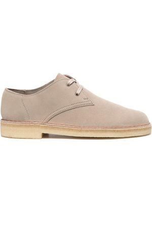 Clarks Herren Schnürschuhe - Lace-up suede shoes