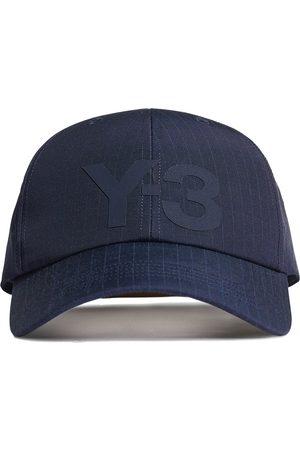 Y-3 Logo-print ripstop cap