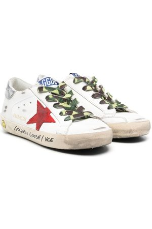 Golden Goose Super Star lace-up sneakers