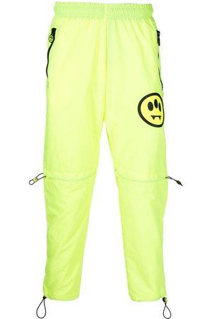 BARROW Jogginghosen - Smiley-motif track pants