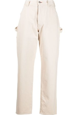 Maison Margiela Damen Hosen & Jeans - High-waisted straight-leg trousers