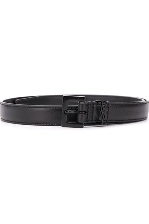 Saint Laurent Monogramme buckle belt