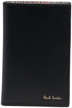 Paul Smith Artist stripe-print leather cardholder