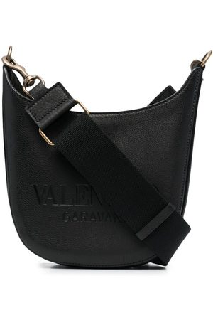 VALENTINO GARAVANI Small logo-embossed shoulder bag