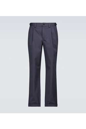 CARUSO Hose aus Stretch-Baumwolle