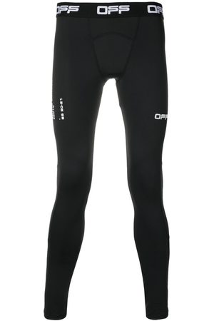 OFF-WHITE Logo-waistband active tights