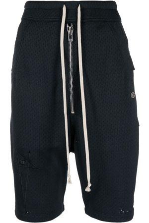 Rick Owens Drawstring track shorts