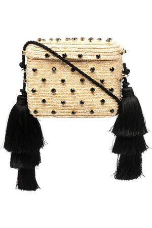 Le Nine Carol woven shoulder bag