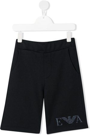 Emporio Armani Logo-embroidered shorts