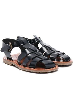 PèPè Jungen Sandalen - Buckle-fastening leather sandals