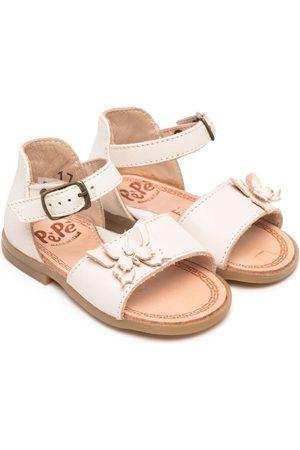 PèPè Bow-detail leather sandals