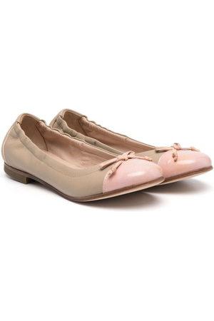 PèPè Bow-detail ballerina shoes