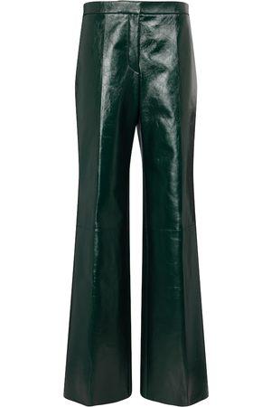Jil Sander High-Rise-Lederhose