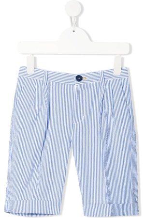 MONNALISA Two-tone striped shorts