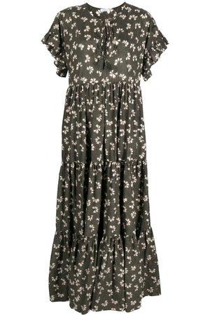 P.a.r.o.s.h. Floral-print maxi dress