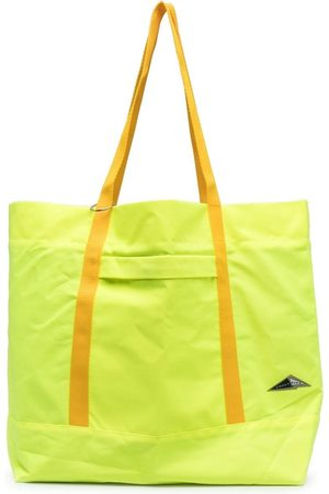 Anglozine Marfa logo-patch tote bag