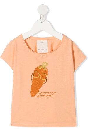 KNOT Mrs Carrot-print T-shirt