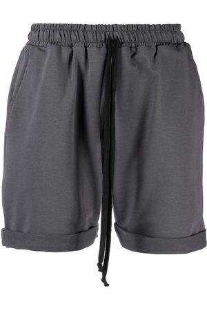 Alchemy High-waist track shorts