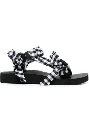 Arizona Love Damen Sandalen - Trekky check-print sandals