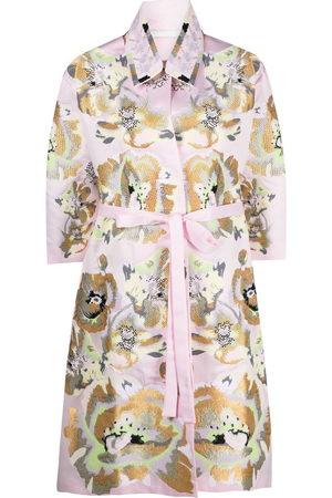 YULIYA MAGDYCH Damen Trenchcoats - Extasy midi trench coat
