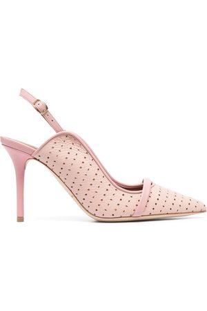 MALONE SOULIERS Marion 85mm perforated pumps