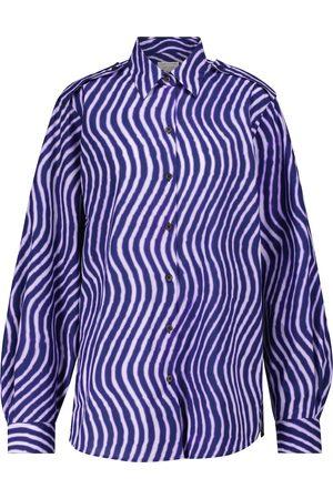 DRIES VAN NOTEN Bedrucktes Hemd aus Baumwollpopeline