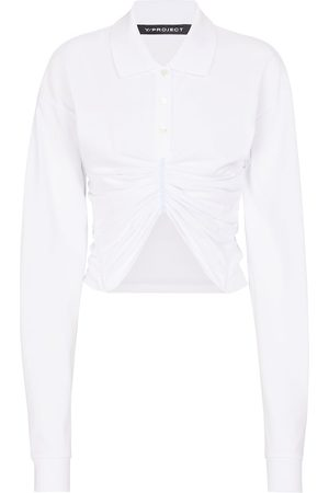 Y / PROJECT Hemd aus Baumwollpopeline